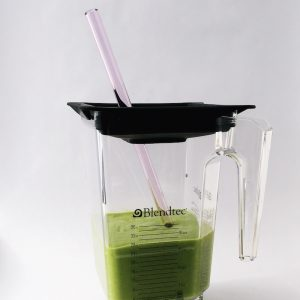 Pink Sapphire Extra Long Smoothie (Blender) Straw