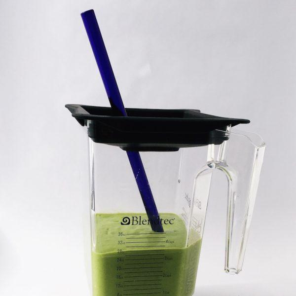 Brilliant Blue Extra Long Smoothie (Blender) Straw