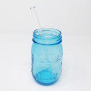 "8"" Clear Regular Glass Straw"