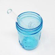 "6"" Clear Smoothie Glass Straw"