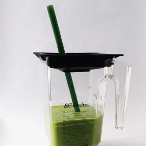 Jade Green Extra Long Smoothie (Blender) Straw