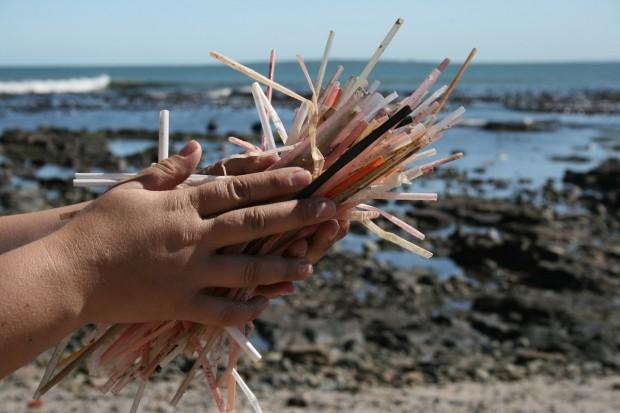 Plastic Straw Problem on Beaches