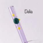 Delia Glass Drinking Straw