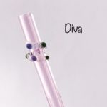 Diva Glass Drinking Straw