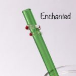 Enchanted Glass Drinking Straw