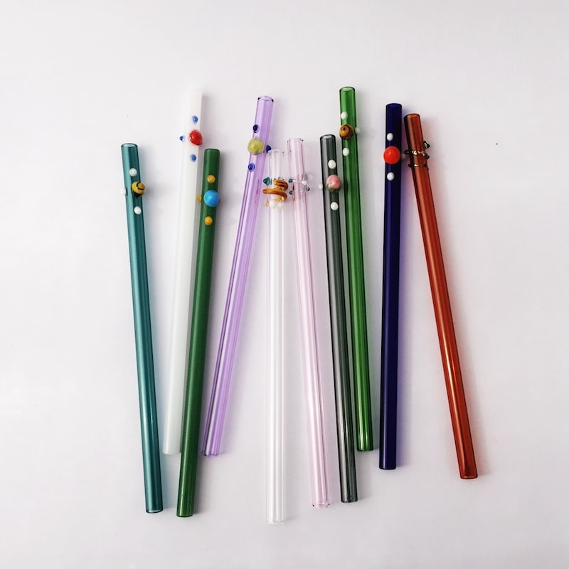 Choose Your Design Glass Straw Set Of 4 Strawesome