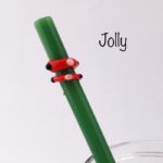 Jolly Glass Drinking Straw