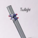 Twilight Glass Drinking Straw