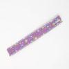 Straw Pouch Purple Flower