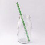 Enchanted Long Glass Straw