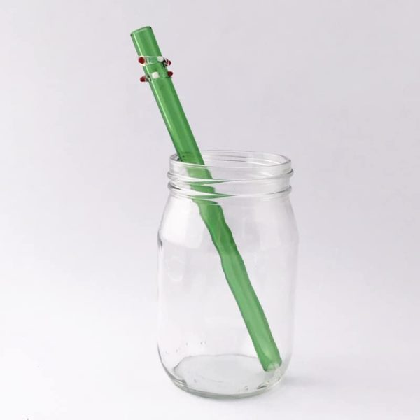 Enchanted Smoothie Glass Straw