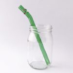 Enchanted Barely Bent Smoothie Glass Straw