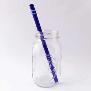 Skye Long Smoothie Glass Straw