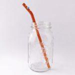 Sundance Barely Bent Long Glass Straw