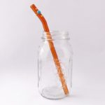 Sundance Barely Bent Long Smoothie Glass Straw