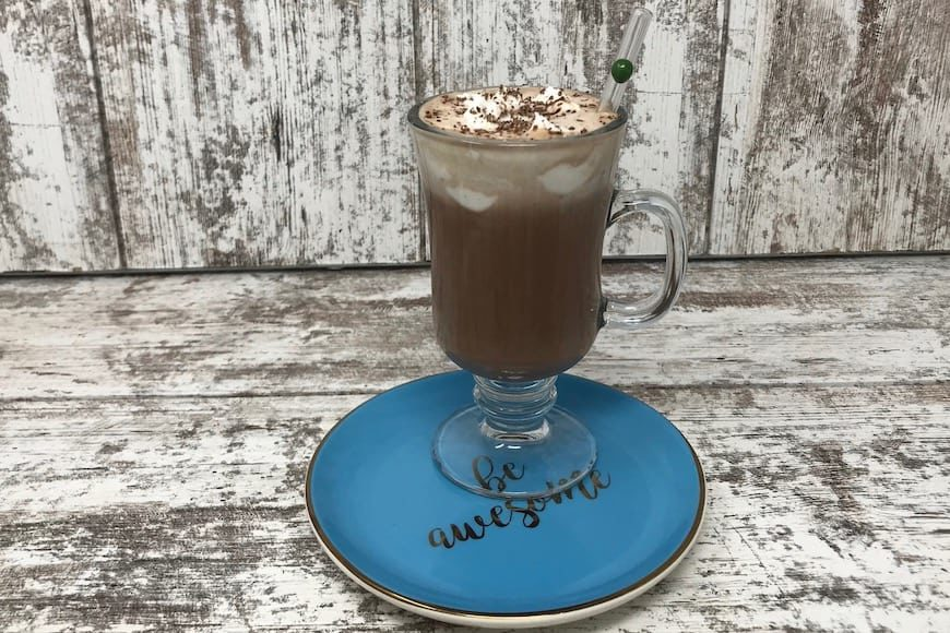 Maca Cacao Hot Chocolate (Vegan & Gluten Free)