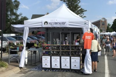 Strawesome at Milford Memories Art Fair
