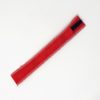 Scarlett Red Straw Pouch