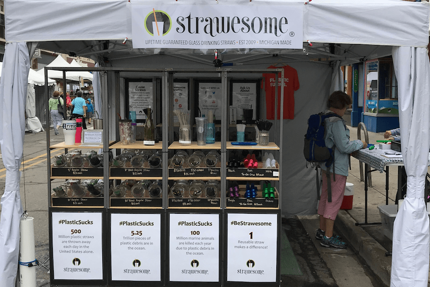 Strawesome at Ann Arbor Art Fair