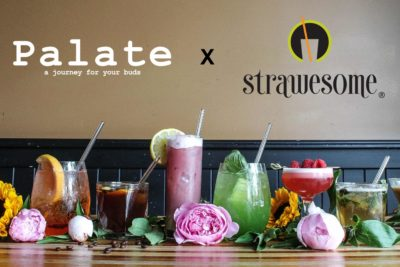 Palate Restaurant Switches to Strawesome Reusable Glass Straws