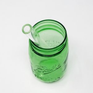 Clear Bubble Tea Glass Straw