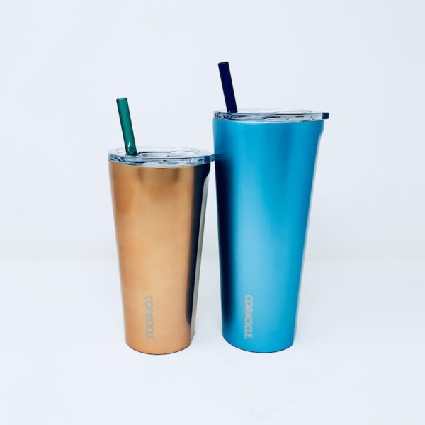 Corkcicle® Glass Straws